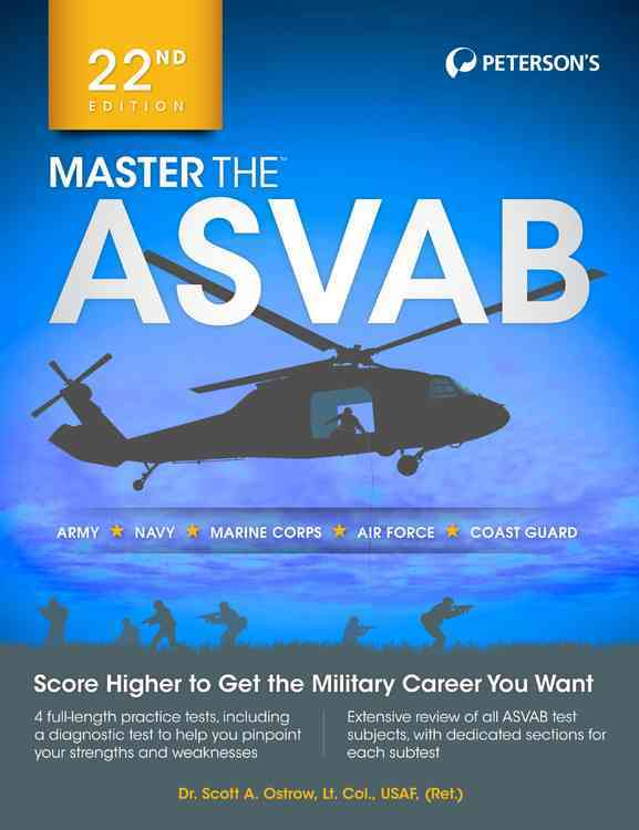Peterson's Master the Asvab By Ostrow, Scott